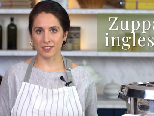 La ricetta classica della zuppa inglese