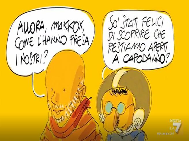 A Capodanno puntata speciale con «Propaganda Live»: «Sarà speciale, non possiamo abbandonare gli italiani»