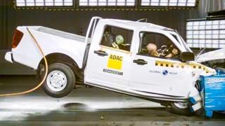 Crash test: zero stelle per uno dei pick-up più venduti in Sudafrica