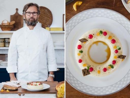 La ricetta del budino di Natale dello chef Carlo Cracco (pronto in soli 20 minuti)