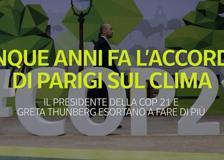 Cinque anni fa l'accordo di Parigi sul clima Cop21: cosa prevedeva il patto per il Pianeta