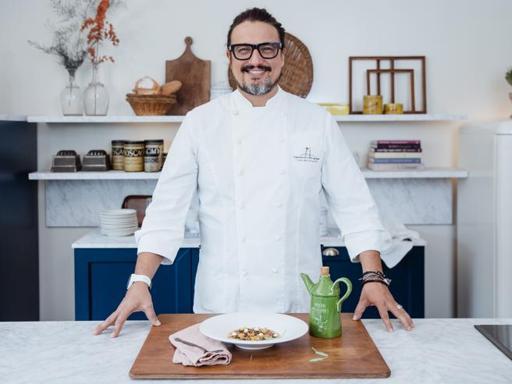 La fregula «d'inverno» alla maniera dello chef Alessandro Borghese