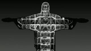Il Cristo Redentore di Rio de Janeiro ai raggi X