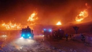Passo del Rombo: le fiamme distruggono il museo delle moto d'epoca più alto d'Europa