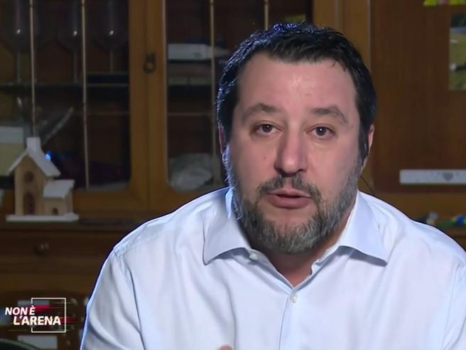 Salvini: «Berlusconi puಠfare il presidente della Repubblica? Sà¬, ma non ne abbiamo parlato»