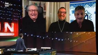 Sanremo 2021, Fiorello scherza con Amadeus: «Deciderò all'ultimo se esserci, sarò il tuo Ciampolillo»