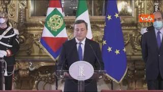 Cosa ha detto Draghi: le sue parole dopo l'incontro con Mattarella