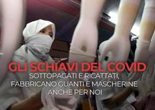 Gli schiavi del Covid che fabbricano guanti e mascherine anche per noi