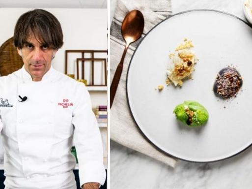 La ricetta dei «Tre cavolfiori» dello chef Davide Oldani