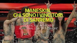 Maneskin, chi sono i vincitori di Sanremo