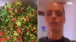 Michelle Hunziker, le figlie non vogliono mangiare le verdure