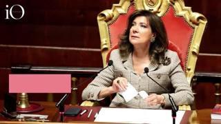 Maria Elisabetta Casellati, l'omaggio per i tre anni da presidente del Senato