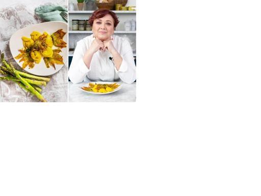 La ricetta dei cappellacci asparagi, fiori di zucca e zafferano di Cristina Lunardini