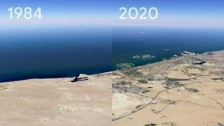 Ecco com'è cambiata la terra in 40 anni: il video impressionante con la nuova funzione Timelapse di Google Earth