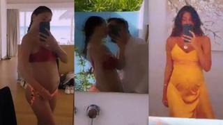 Belen Rodriguez, la sua vacanza alle Maldive prosegue tra selfie e baci...