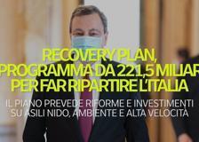 Recovery plan, il programma da 221,5 miliardi per far ripartire l'Italia