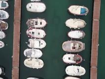 Capri vista dal drone è bellissima, in attesa che arrivino i turisti