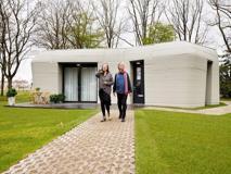 Olanda, la  prima casa interamente stampata  in 3D: 120 ore per realizzarla