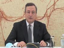 Draghi: «La pandemia ci ha costretto a chiuderci, pronti a ridare il benvenuto al mondo»