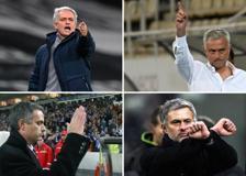 Da «io non sono un pirla» alle dita all'orecchio, le trovate di Mourinho davanti alle telecamere