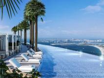 Dubai: l'infinity pool a 300 metri da terra