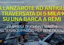 Da Lanzarote ad Antigua, la traversata di 5 mila km su una barca a remi