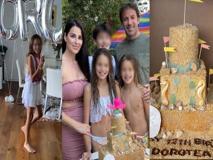 Alex Del Piero, la figlia Dorotea compie 12 anni: quant'è cresciuta!