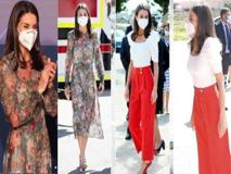 Letizia Ortiz: dall'abito fiorato ai pantaloni rossi, i suoi look recenti