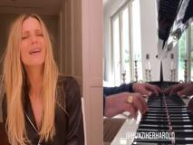 Michelle Hunziker, la canzone in tedesco dedicata al fratello