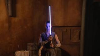La spada laser creata da Disney