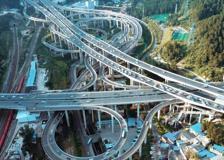 L'incrocio di strade più complicato del mondo si trova in Cina