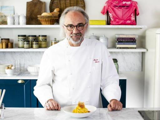 La ricetta della carbonara «au Koque» dello chef Marco Sacco