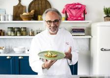 Il sashimi di trota dello chef Marco Sacco