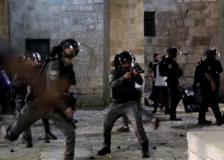 Gerusalemme, scontri sulla Spianata delle Moschee tra polizia israeliana e palestinesi