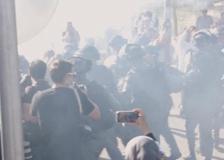 Gerusalemme, scontri tra polizia e manifestanti palestinesi