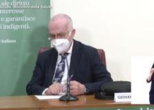 Covid, Rezza: «Non si può escludere un aumento dei casi, ma c'è cauto ottimismo»