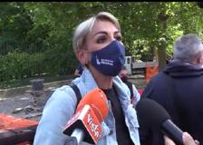 Omofobia, Francesca Pascale alla manifestazione per il ddl Zan: «Non posso più votare FI»