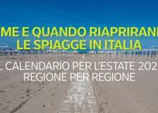 Come e quando riapriranno le spiagge in Italia