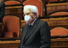 Mattarella interviene in Senato per il Giorno della memoria delle vittime del terrorismo