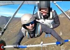 Istruttore morto, così Federico Baratto faceva lezioni di volo con il deltaplano