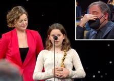 David 2021: Emma Torre ritira il premio per il padre scomparso, le lacrime di Valerio Mastandrea