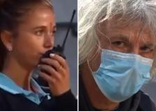 La giudice di sedia spaventata dal padre della tennista Giorgi chiama la sicurezza: «È furioso, restate nei paraggi»