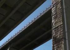 Viadotto A12 chiuso ai tir in Liguria, le immagini dei piloni corrosi