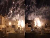 La pioggia di fuoco e le urla  nella notte di Gaza