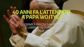 40 anni fa l'attentato a papa Wojtyla: gli spari in  piazza San Pietro e l'arrivo in ospedale in fin di vita
