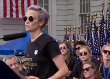 Megan Rapinoe e la sfida a Trump dopo la vittoria ai Mondiali nel 2019