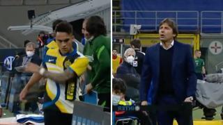 Scontro tra Lautaro e Conte: «Togli sempre me», il tecnico: «Non fare il fenomeno»