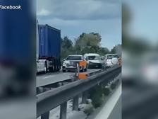 Incidente frontale in superstrada: la folle corsa del suv in contromano