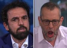 La sfuriata di Formigli contro Giarrusso: «L'arbitro vallo a fare te! Giudico Raggi da cittadino di Roma»