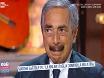 Marino Bartoletti commosso: «Ho un tumore e forse ce l'ho ancora»